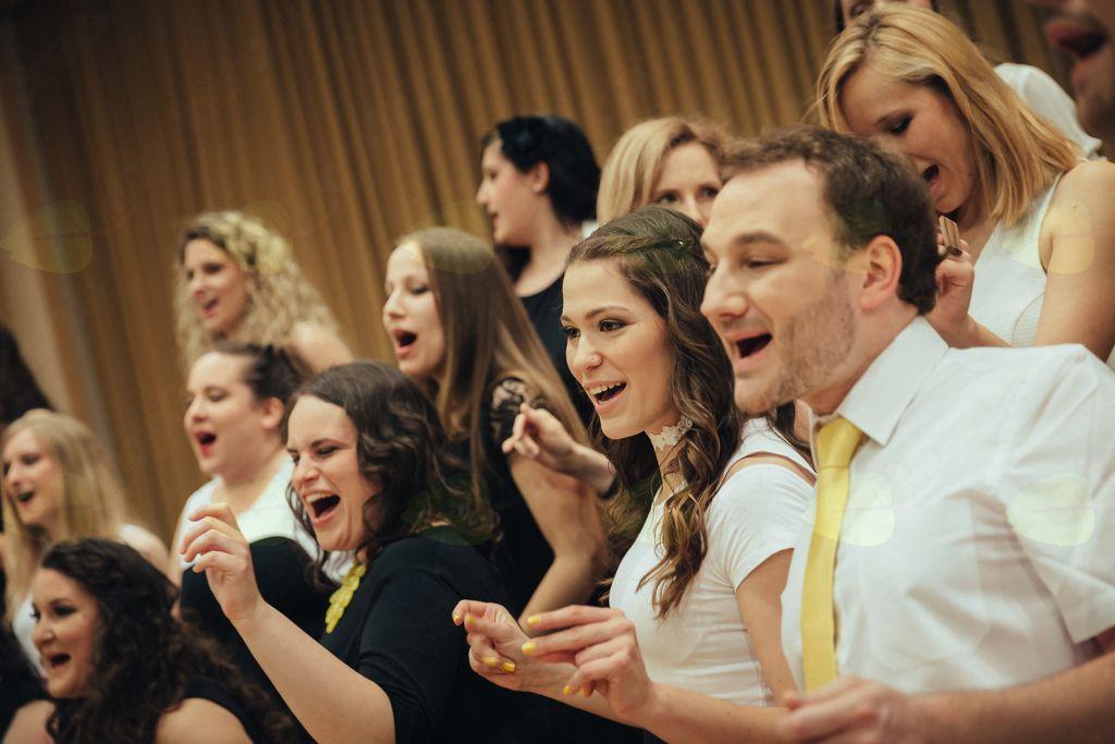 Koncert a cappella gospel zbora BEE GEESUS