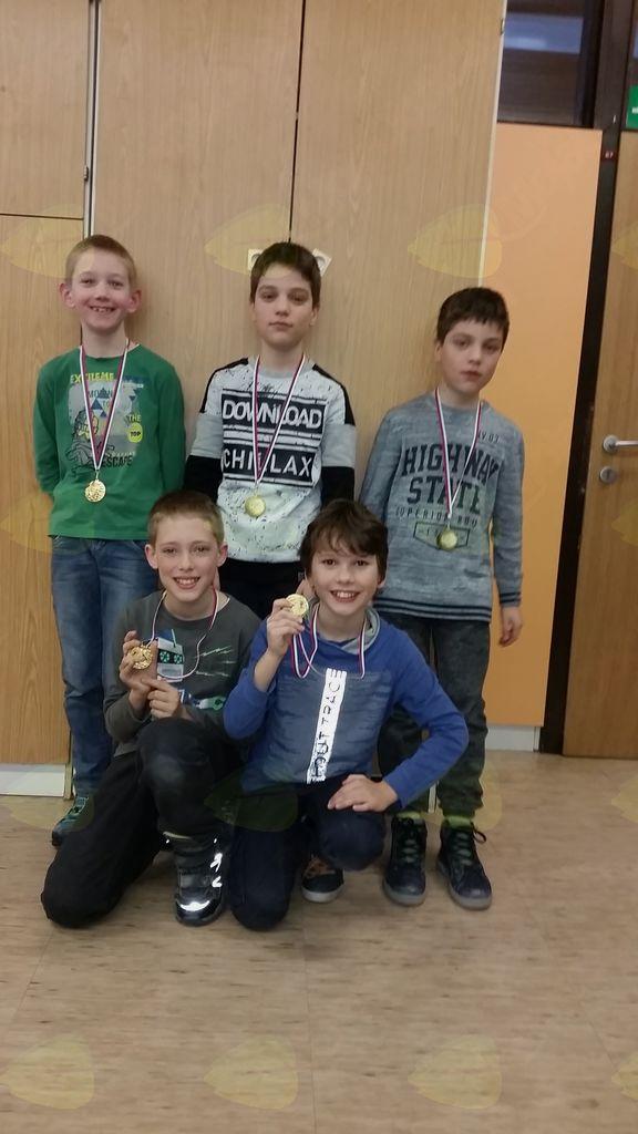 Mladi preddvorski šahisti odlični na gorenjskem ekipnem prvenstvu