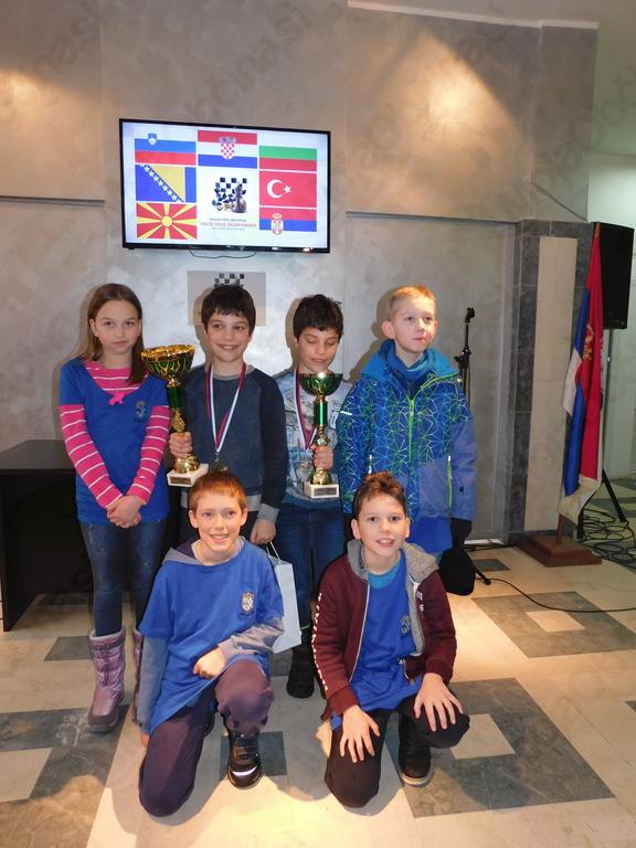 Preddvorski šahisti uspešni na balkanskem prvenstvu v Srbiji
