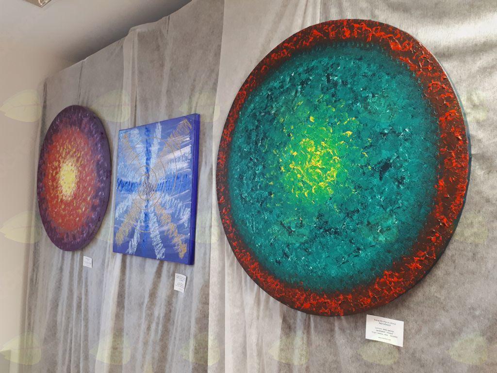 """Razstava energijskih slik """"by Tanti"""""""