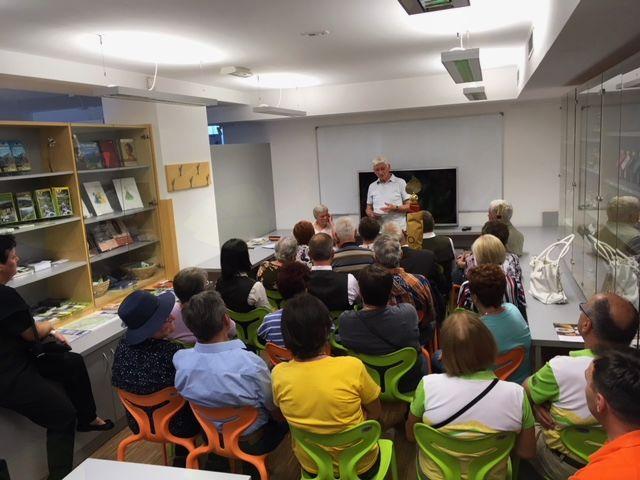 Predavanje o Franu Lakmayerju v TICu