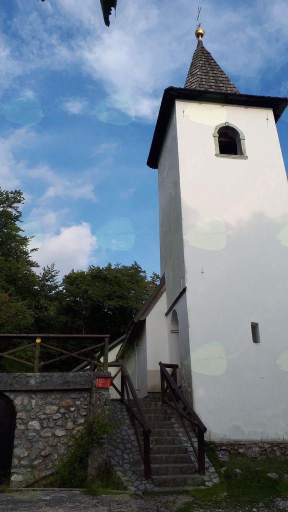 Varianta Jakobove poti na Brezje preko Sv. Jakoba nad Preddvorom
