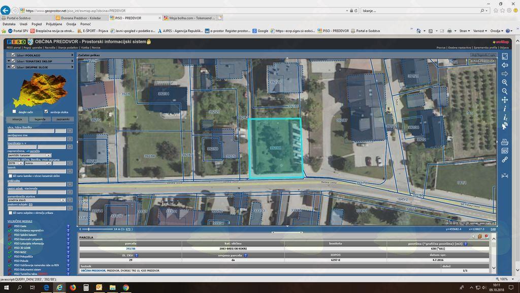 Občina Preddvor prodaja stanovanje in zazidljivo parcelo
