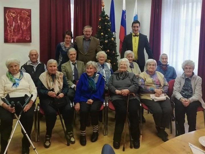 Tradicionalni sprejem za občane starejše od 90 let