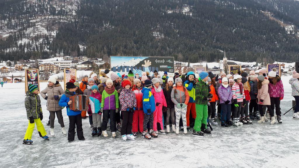 Slike na ledu jezera Weissensee 2019