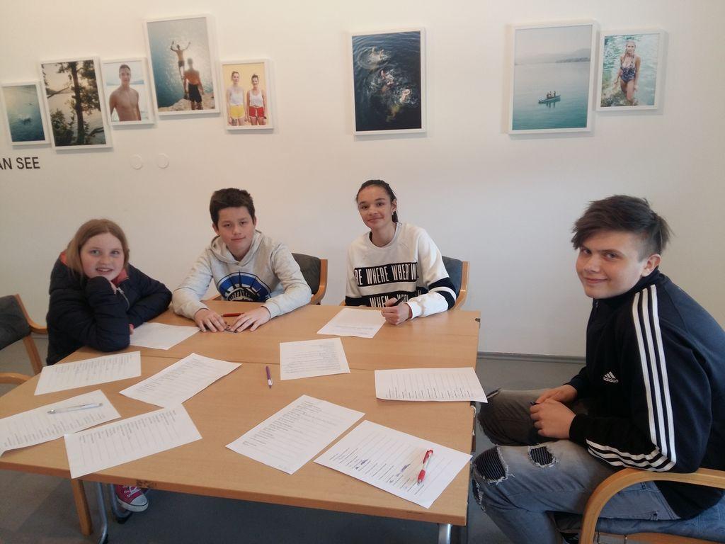 Učenci OŠ Preddvor so sodelovali na mednarodnem literarnem taboru na Koroškem
