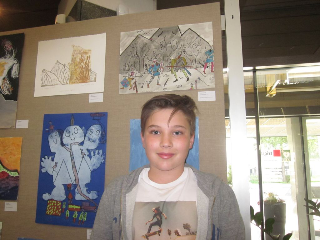 Triglav navdihnil sedmošolca iz OŠ Preddvor
