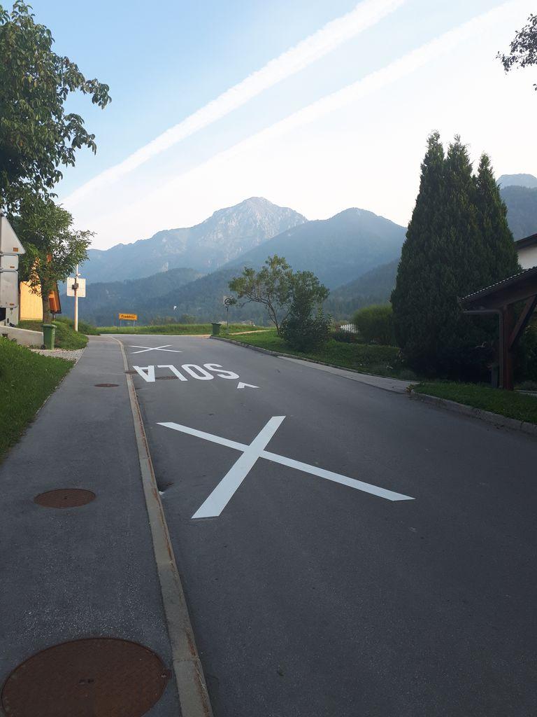 Osvežene cestne oznake