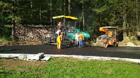 Nov asfalt na Bregu