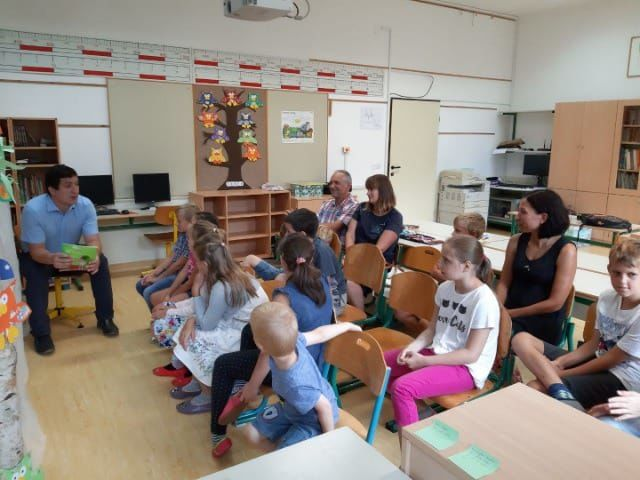 Prvi šolski dan v Podružnični šoli Kokra