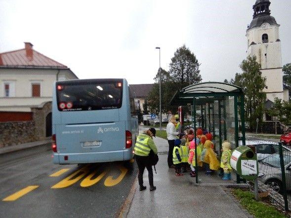 Uporaba javnega prevoza