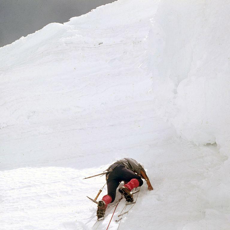 Zahtevno tehnično plezanje v steni