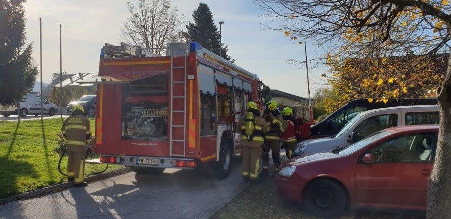Šolarji na obisku pri prostovoljnih gasilcih v Preddvoru – 23. 10. 2019