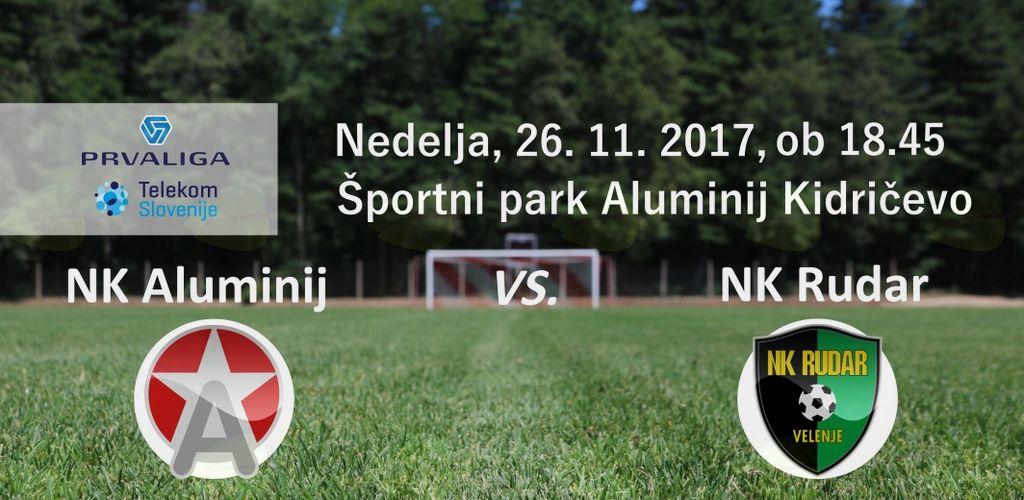 Aluminij : Rudar - 17. krog Prve lige Telekom Slovenije 2017/18