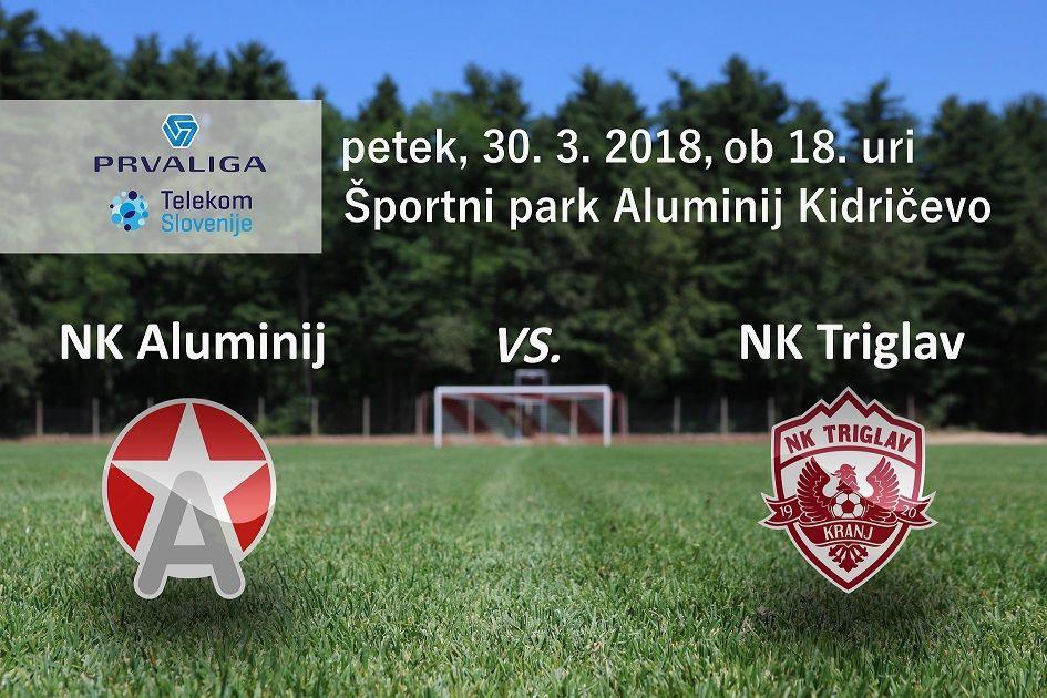 Aluminij : Triglav - 25. krog Prve lige Telekom Slovenije 2017/18