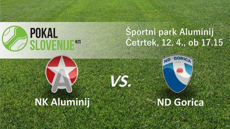 Aluminij : Gorica, polfinale Pokala Slovenije 2017/18