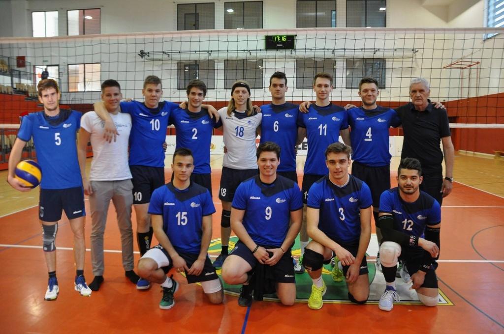 Odbojka; 3.DOL Mislinja : Ljubljana Volley - zaključna tekma