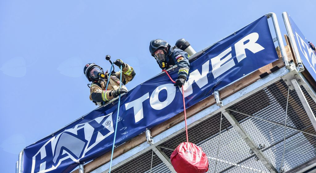 Najtežje gasilsko tekmovanje Firefighter Combat Challenge