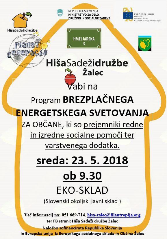 Brezplačno energetsko svetovanje