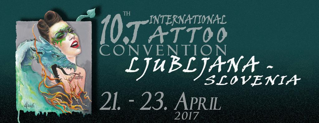 10. International tattoo convention Ljubljana