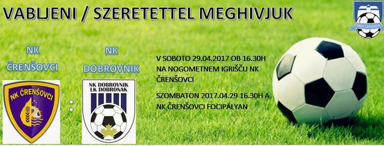 1.MNL 17.krog   NK ČRENŠOVCI - NK DOBROVNIK