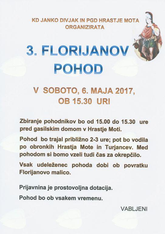 3. FLORIJANOV POHOD