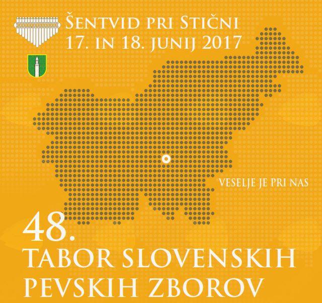 48. tabor slovenskih pevskih zborov v Šentvidu pri Stični