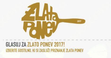 Gostilna Pri lipi med kandidati za Zlato ponev 2017