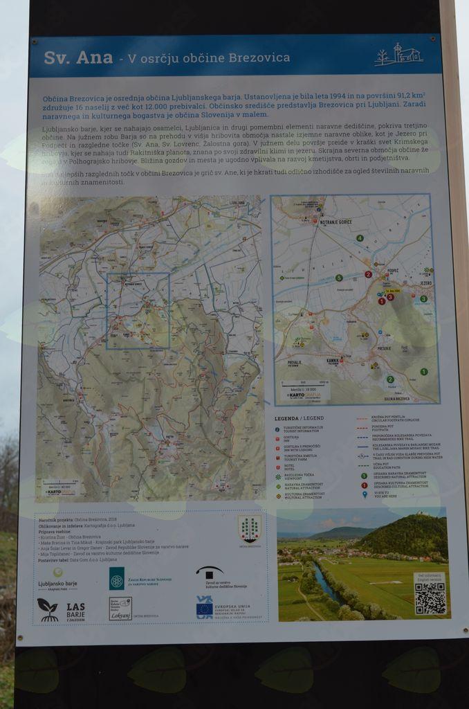Otvoritev turistično - informativnega paviljona na Sv. Ani