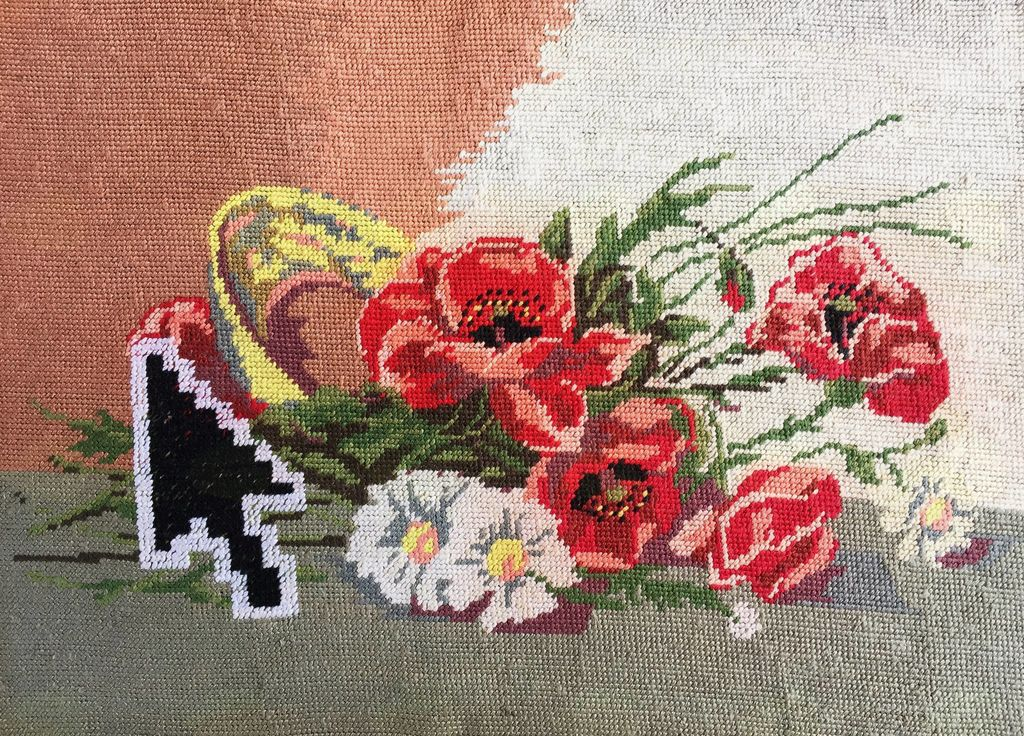 Živela umetnost: Katja Felle – Posodobi gobelin