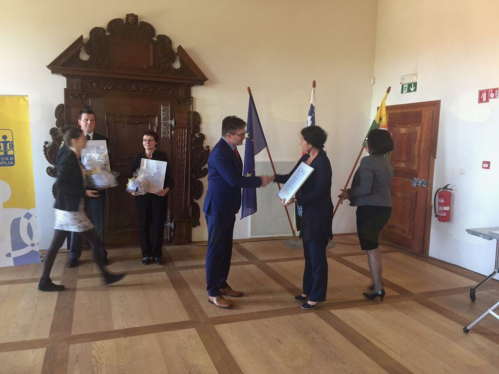 Damjan Barut prejemnik posebnega priznanja ob Slovesnem dnevu prostovoljstva 2017