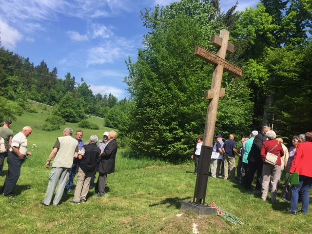 9.maja obeležili spomin na padle ruske vojne ujetnike