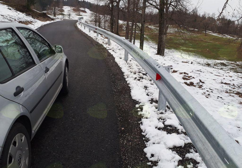 Vabilo na odprtje prenovljenega odseka ceste Rovte-Podlipa