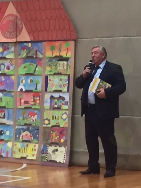 Župan pozdravil novo generacijo prvošolčkov