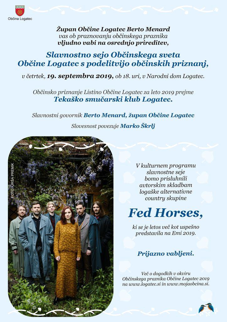 Občani občine Logatec praznujemo – Slavnostna seja Občinskega sveta Občine Logatec s podelitvijo Občinskega priznanja