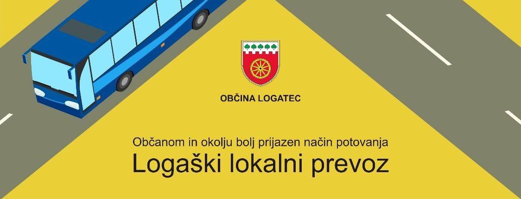 Obvestilo o ponovnem izvajanju Logaškega lokalnega prevoza - ponedeljek, 11. maj 2020