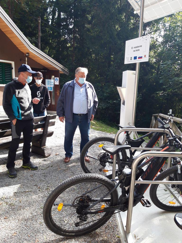 E-kolesa na Vrhu Sv. Treh Kraljev - foto utrinki