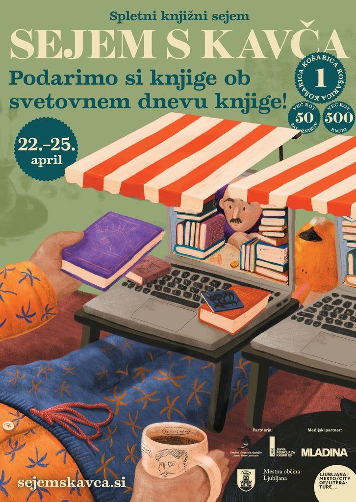 Sejem s kavča - spletni knjižni sejem
