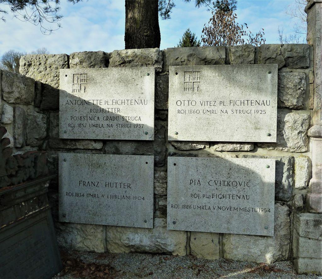 Grčarevčanka Antonija Hutter pl. Fichtenau in njena povezanost z Novim mestom in Dolenjsko