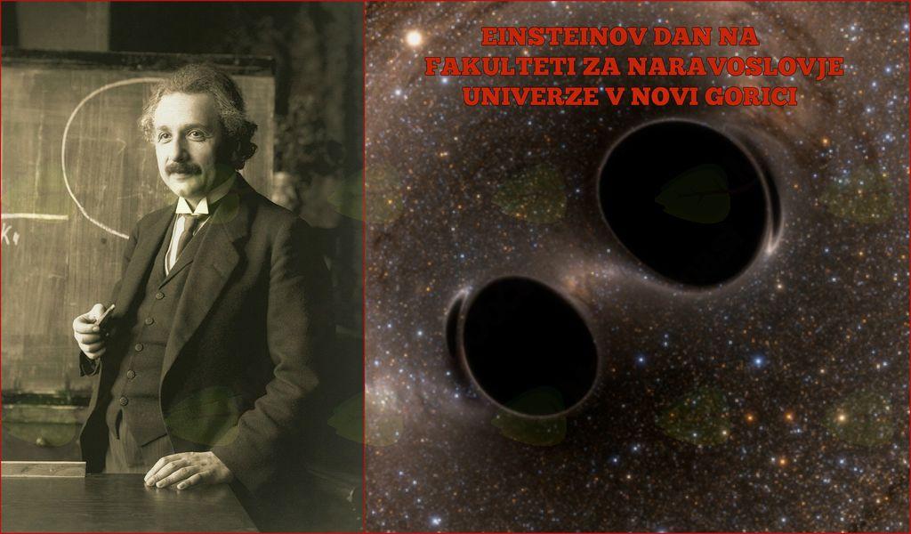 Einsteinov dan na Fakulteti za naravoslovje Univerze v Novi Gorici