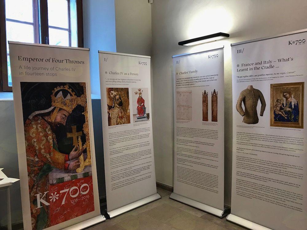 Odprtje razstave 'Cesar na štirih prestolih – življenjska pot Karla IV.'