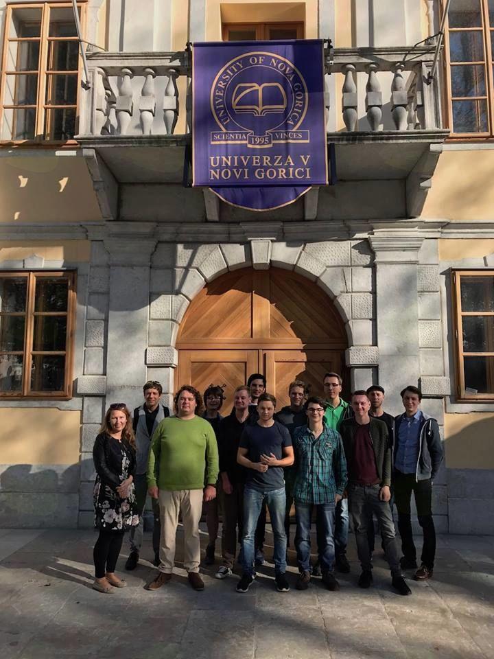 Obisk Univerze v Novi Gorici v dvorcu Lanthieri v Vipavi.