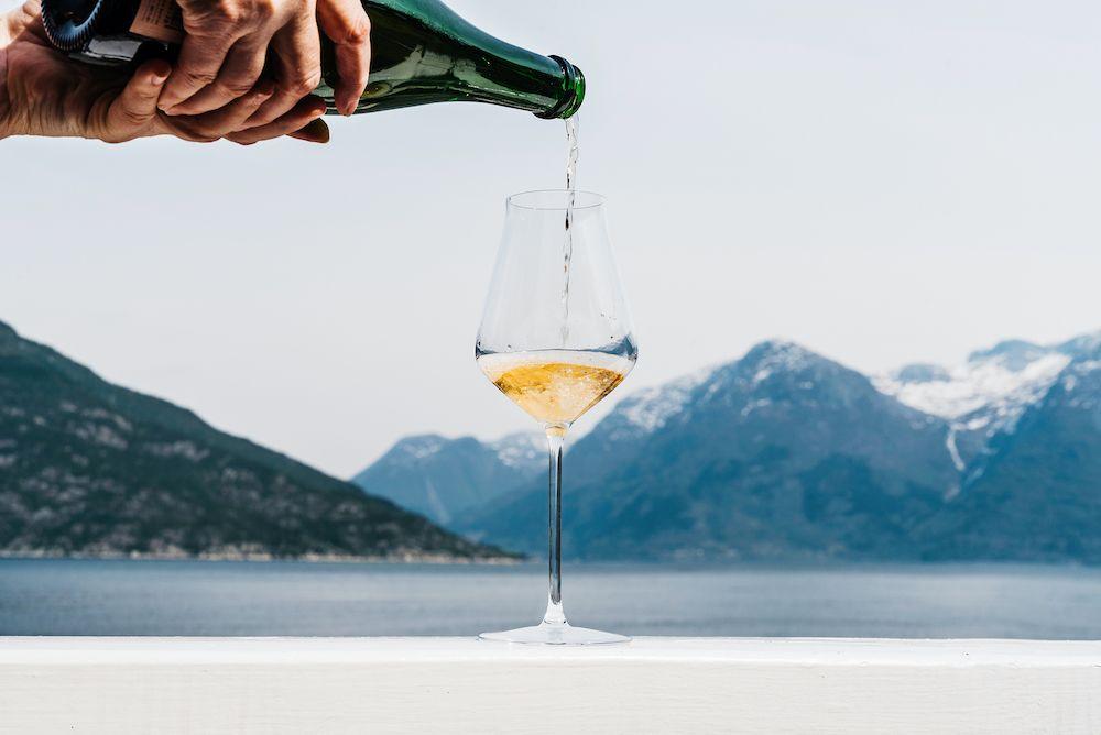 Jabolčna vina Norveška. Foto: Utne Hotel
