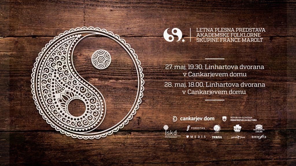 """Letna plesna predstava """"69"""" Akademske folklorne skupine France Marolt"""