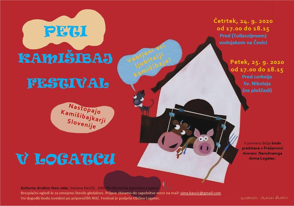 5. kamišibaj festival v Logatcu