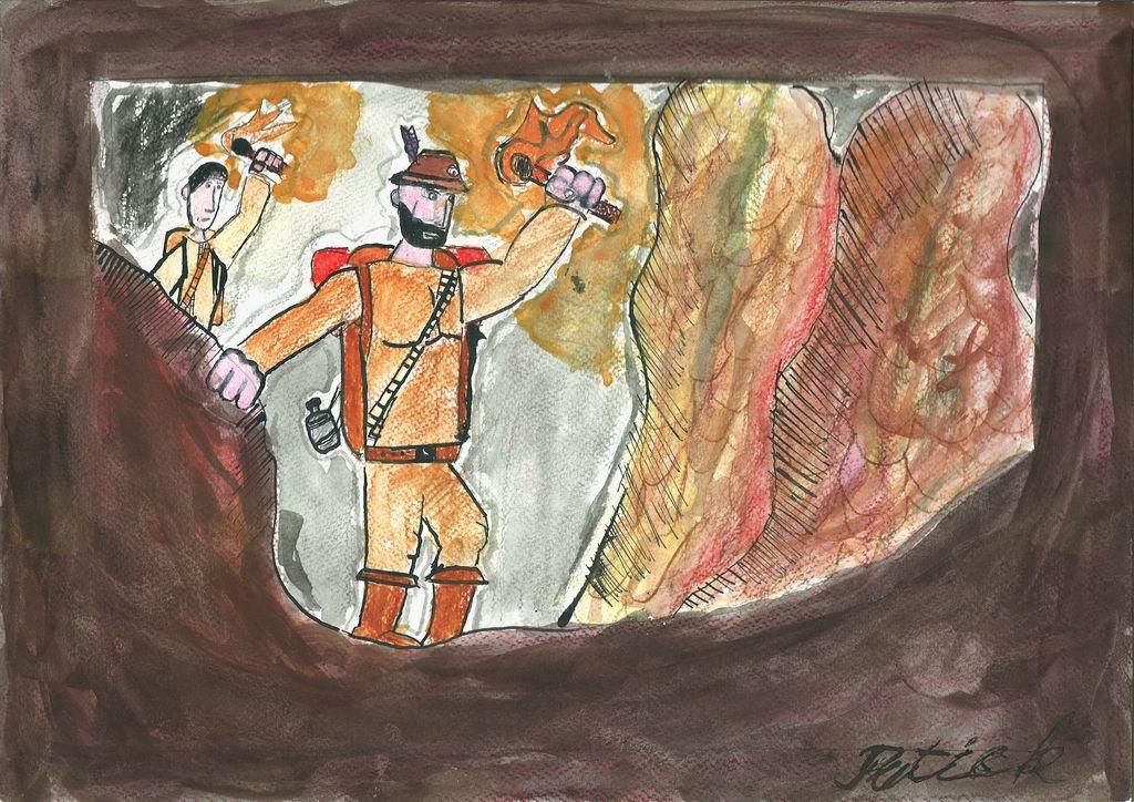 Razstava ob 130 letnici prvega spusta v jamo Gradišnico pri Logatci