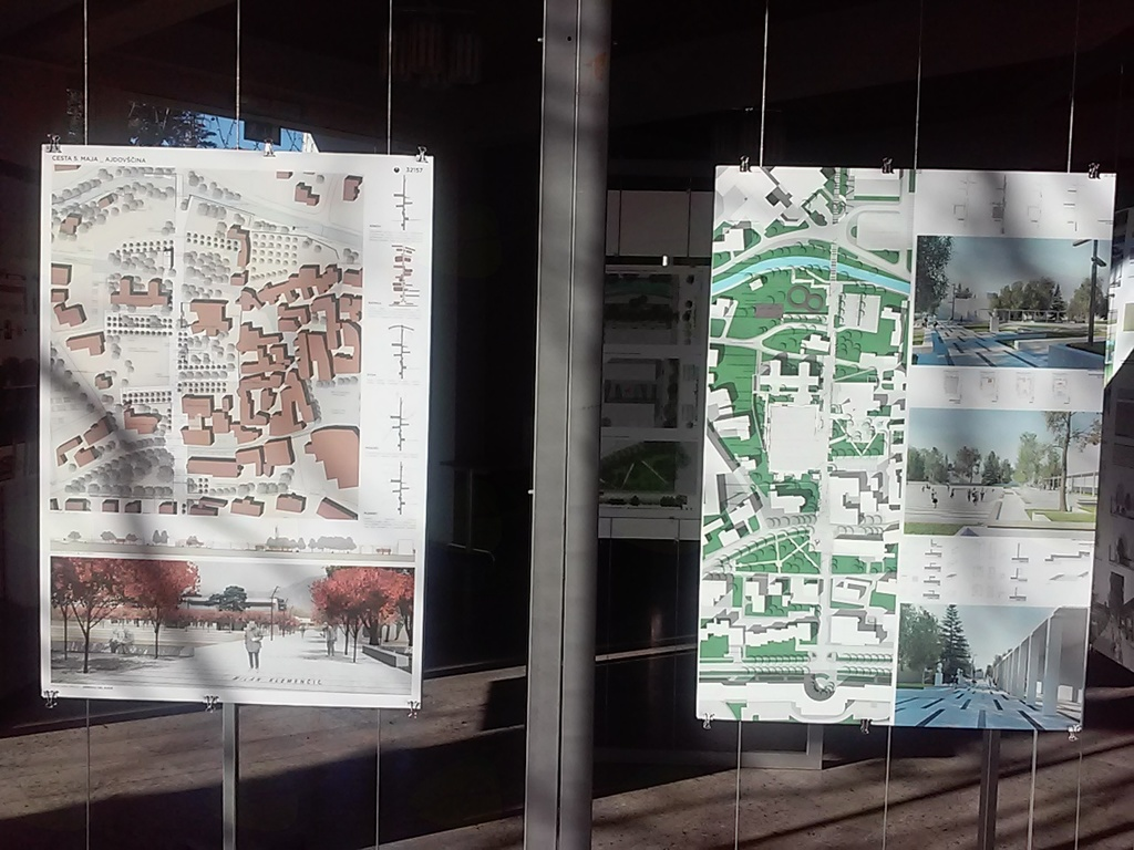 Javni natečaj za ureditev mestne aleje