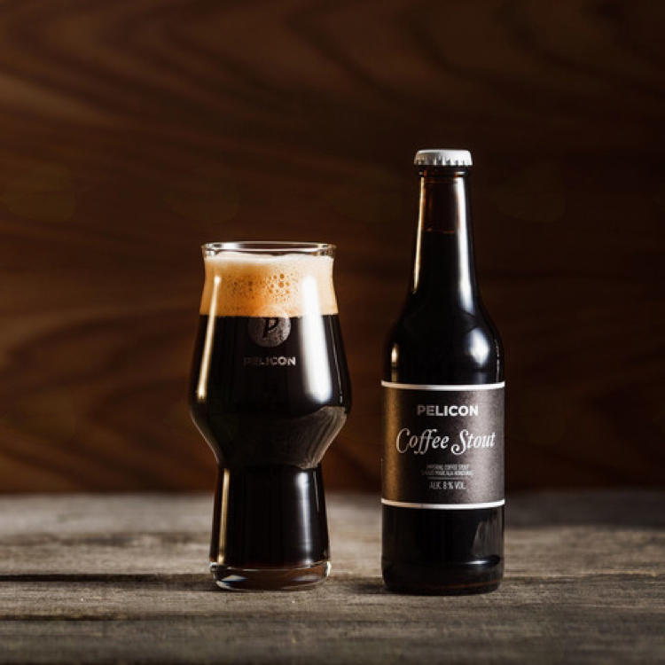 Pelicon Coffee Stout srebrn na Češkem
