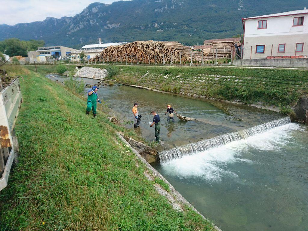 Strugi Hublja in Lokavščka očiščeni pričakali deževje