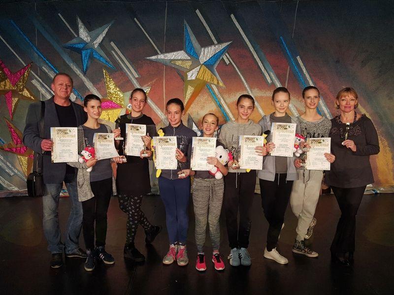 Osem pokalov za mlade balerine